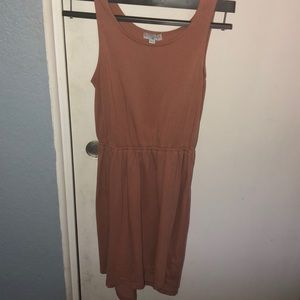 COTTON ON taupe dress!